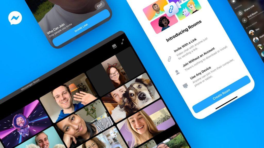 Messenger Rooms web会議ツール