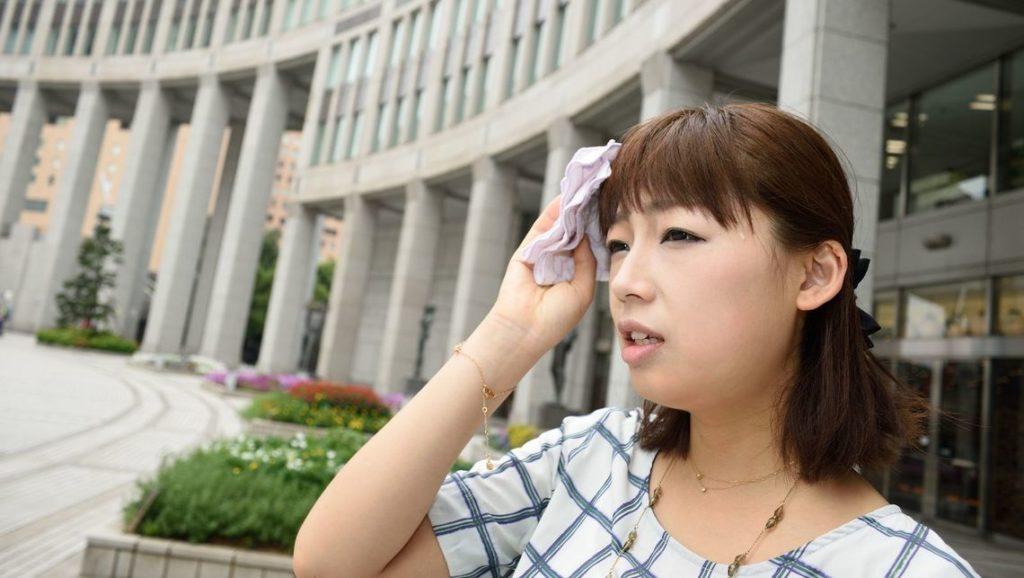 日本 マスク 熱中症