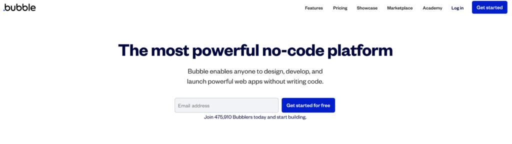 NoCode(ノーコード) Bubble