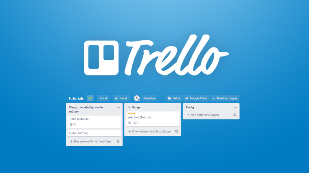 リモートワーク Trello