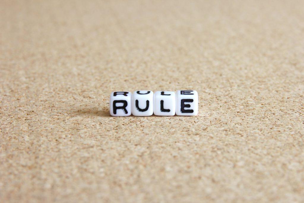 ルール守るものであるだけでなく自分たちで作っていくもの