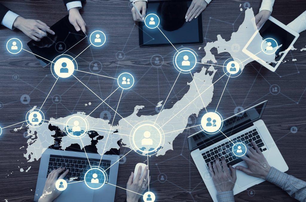 日本 テレワーク化