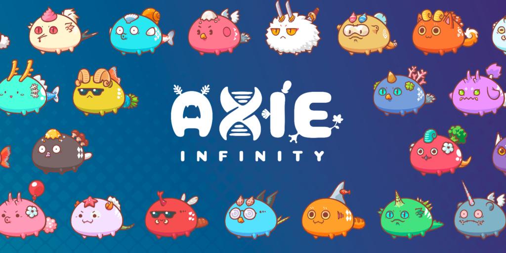 NFT(Non Fungible Token) 仮想通貨 Axie Infinity