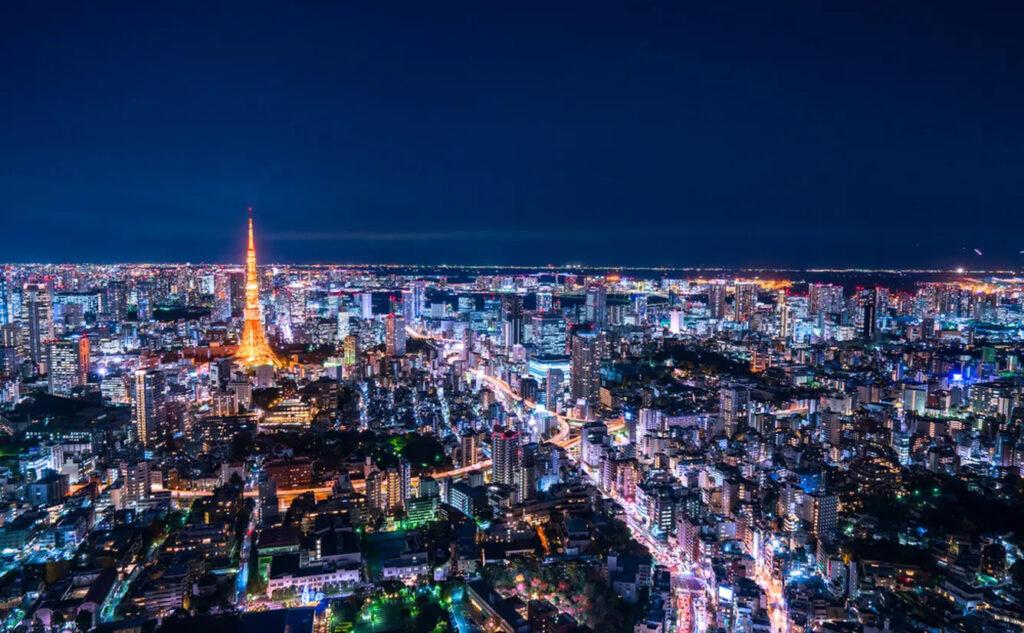 東京 午後8時以降 店頭 照明 消す
